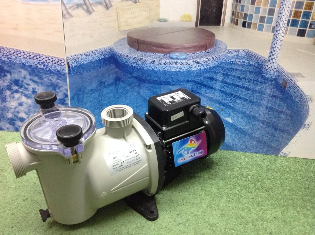 Насос для фильтра бассейна